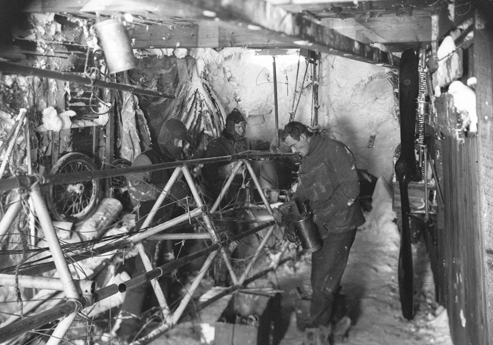 Mawson, Mawson's Huts, Mawson's Huts Foundation, Cape Denison, East Antarctica, Antarctica, Australasian Antarctic Expedition, AAE, Australia's Antarctic Heritage, Antarctic History, Heroic Era of Antarctica, Mawson's Men