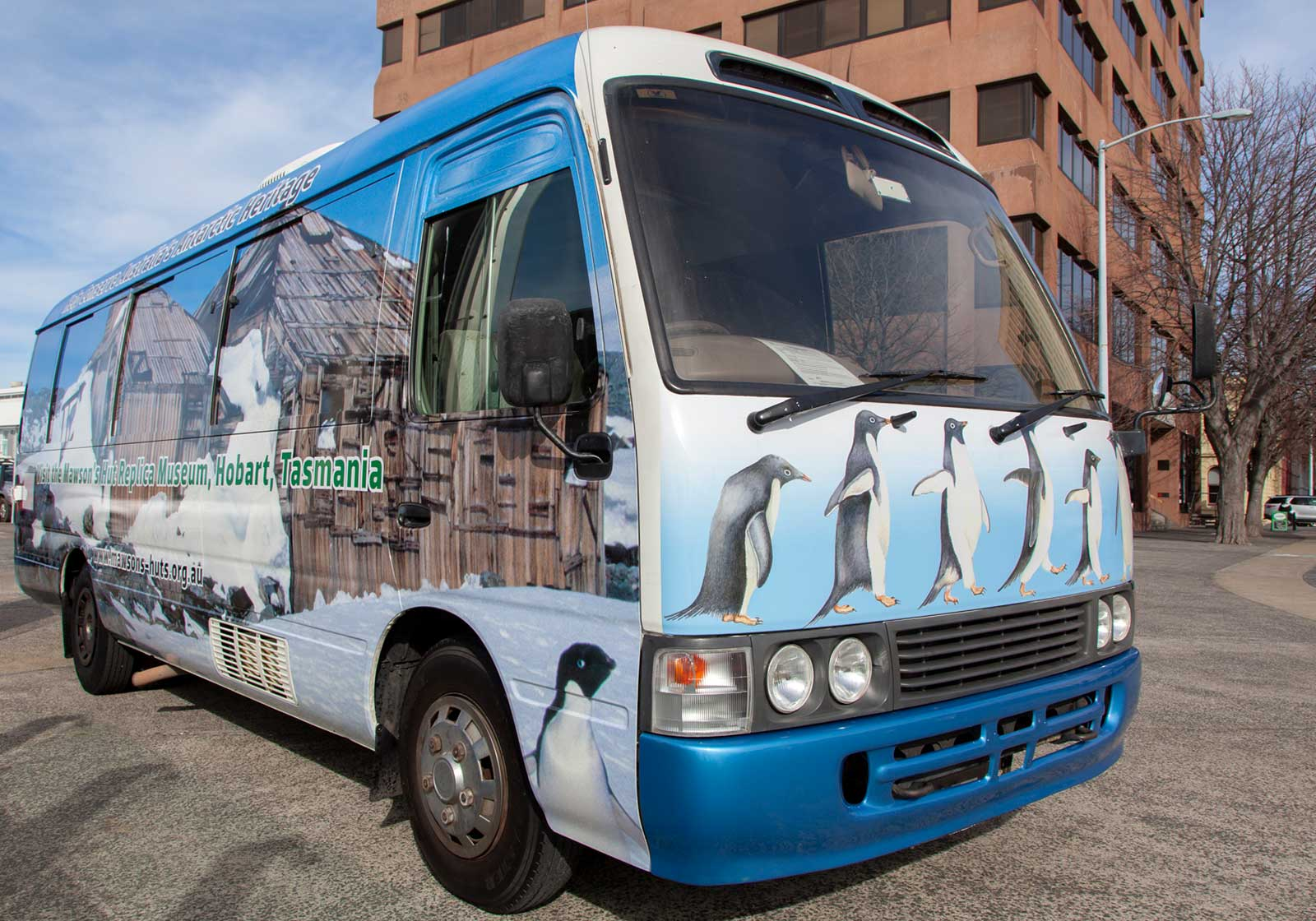 Mawson, Mawson's Huts, Mawson's Huts Foundation, Australia's Antarctic Heritage, Antarctic History, Mobile Antarctic Classroom,Antarctic Environmental and Sustainability Bus